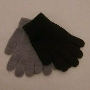 Knit one size gloves x 2 nwt
